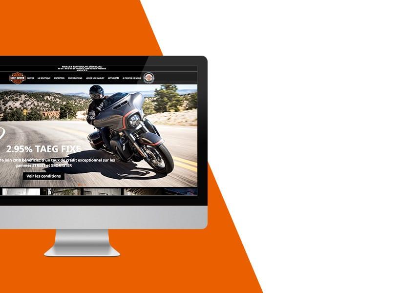 Harley Davidson Sunroad, client de Quai 13